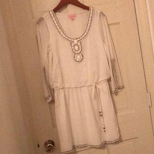 Lilly Pulitzer Delisa Dress resort white